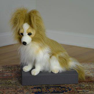 Papillion Dog 16H from Hansa 8900 Dimensions 16H 8