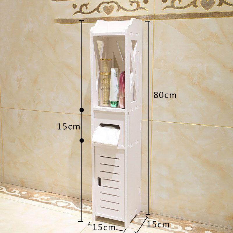 Best Sale Small Bathroom Vanity Floor Standing Storage Cabinet Small Bathroom Storage Floor Standing Bathroom Storage Storage Cabinet Shelves