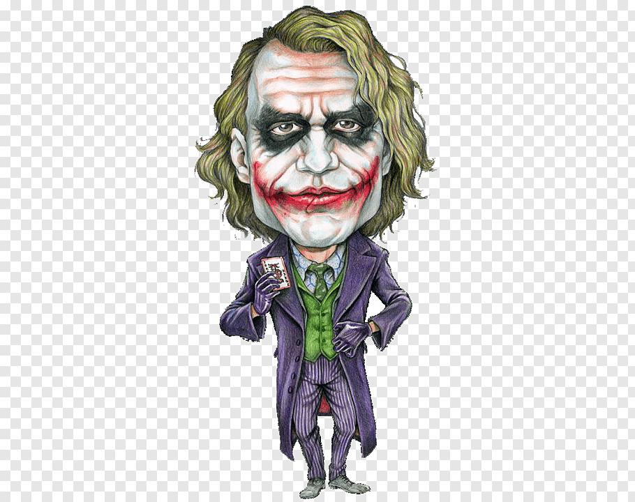 Joker Heath Ledger The Dark Knight Joker Cartoon Batman Cartoon Joker Art