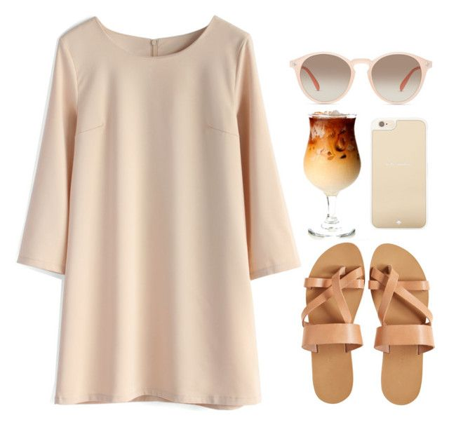 """Thai Iced Coffee"" by blissbell ❤ liked on Polyvore"