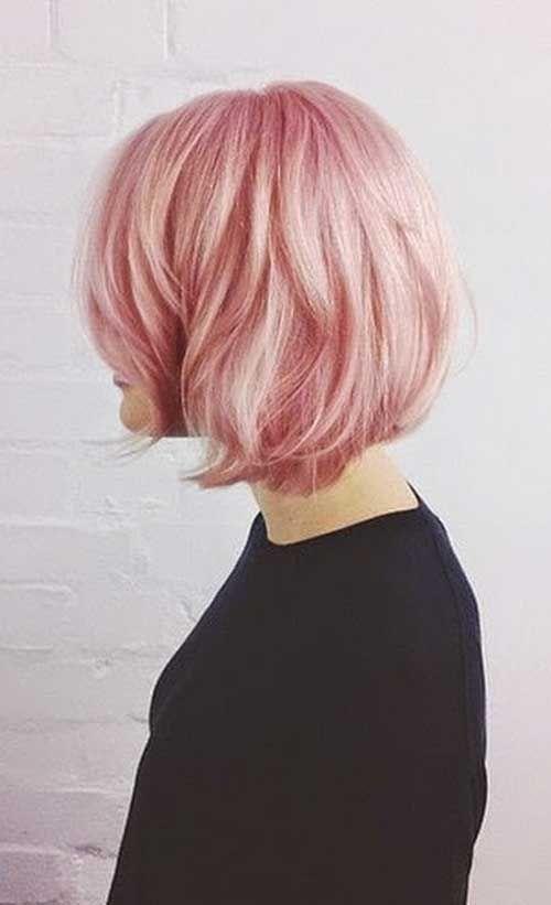 Pastel Pink Short Hair Jpg 500 821 Pixels Pink Short Hair Short Hair Styles Growing Out Short Hair Styles