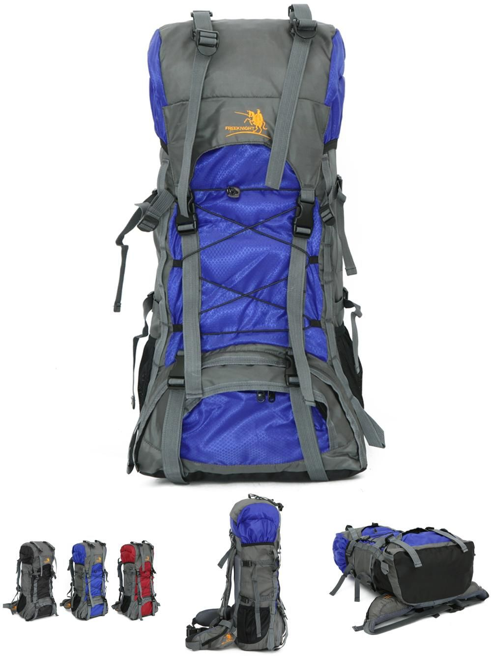 Visit to Buy  Brand Unisex Large Capacity Outdoor 60L Travelling Backpack  Nylon Water Resistant cee223df03