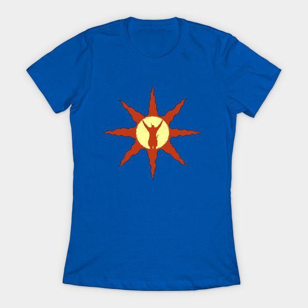 Sun Symbol Womens T-Shirt