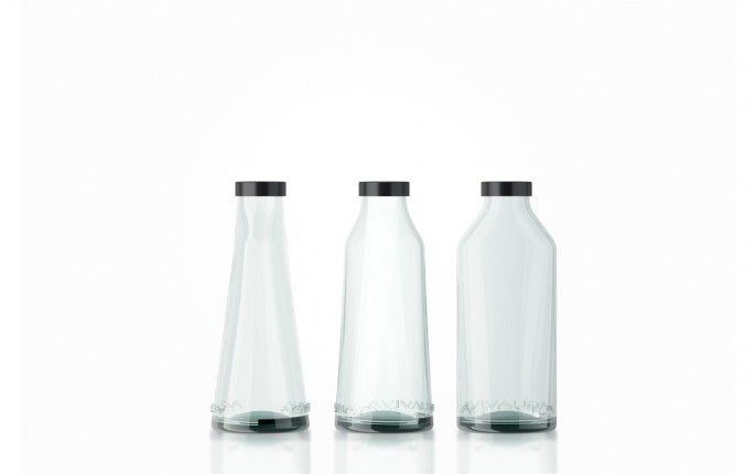 Aguaviva bottles by Stone Designs, 2013 #StoneDesigns