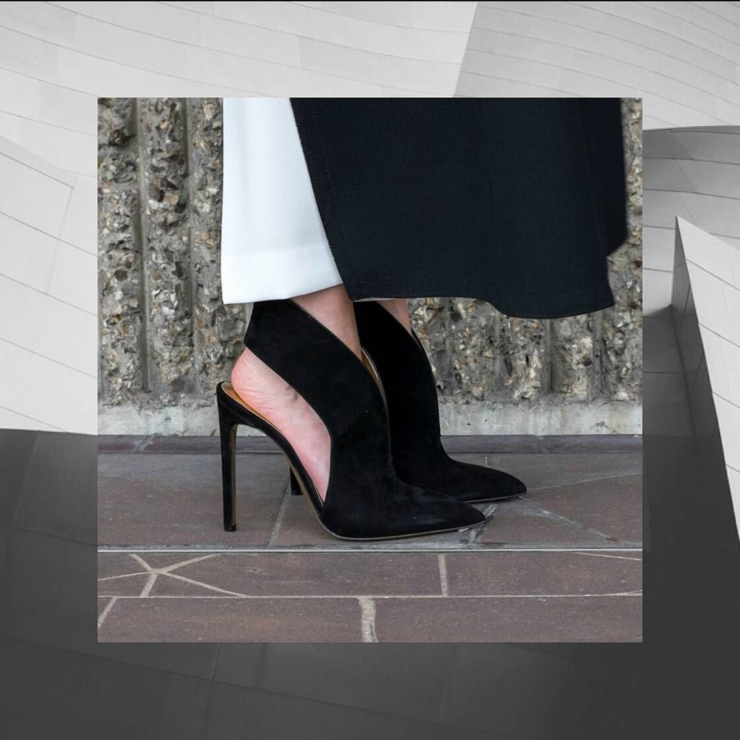 """FW16 Collectionisall aboutgeometricand architecturallines. Beinspiredbyour""""FLY""""Stiletto. #WalterSteiger#SteigerParis#Shoes#FW16 #Fall#Winter #Fashion#FW16Campaign #FW16Collection #Shoedesigner#Heel#Heels#Style #HighHeels#Love #architecture #fashionstyle#Woman#Fly"""