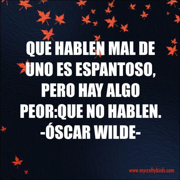 Buenas noches Pajarillos! Y vosotros.. le dais la razón a Oscar Wilde??  #buenasnoches #felizlunes #ilovemyjob #mycraftybirds