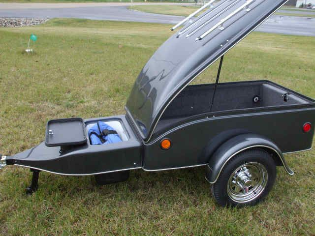 Small Trailers To Pull Behind Your Car Motorcycle Small Car Cargo Trailers