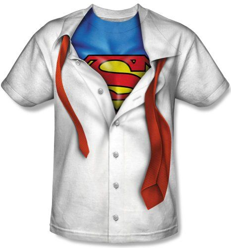 Tie Costume All Over Print T-Shirt TeeShirtPalace Sublimation Youth Superman