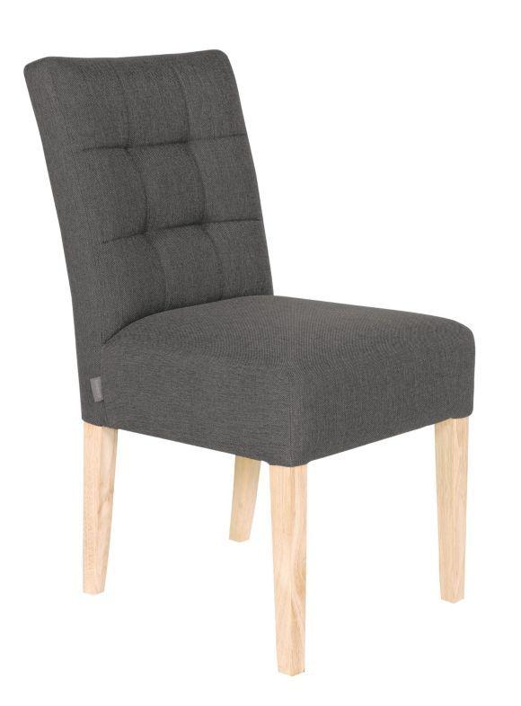 Stuhl Webstoff Grau Eichefarben Esszimmerstuhle Stuhle Und E