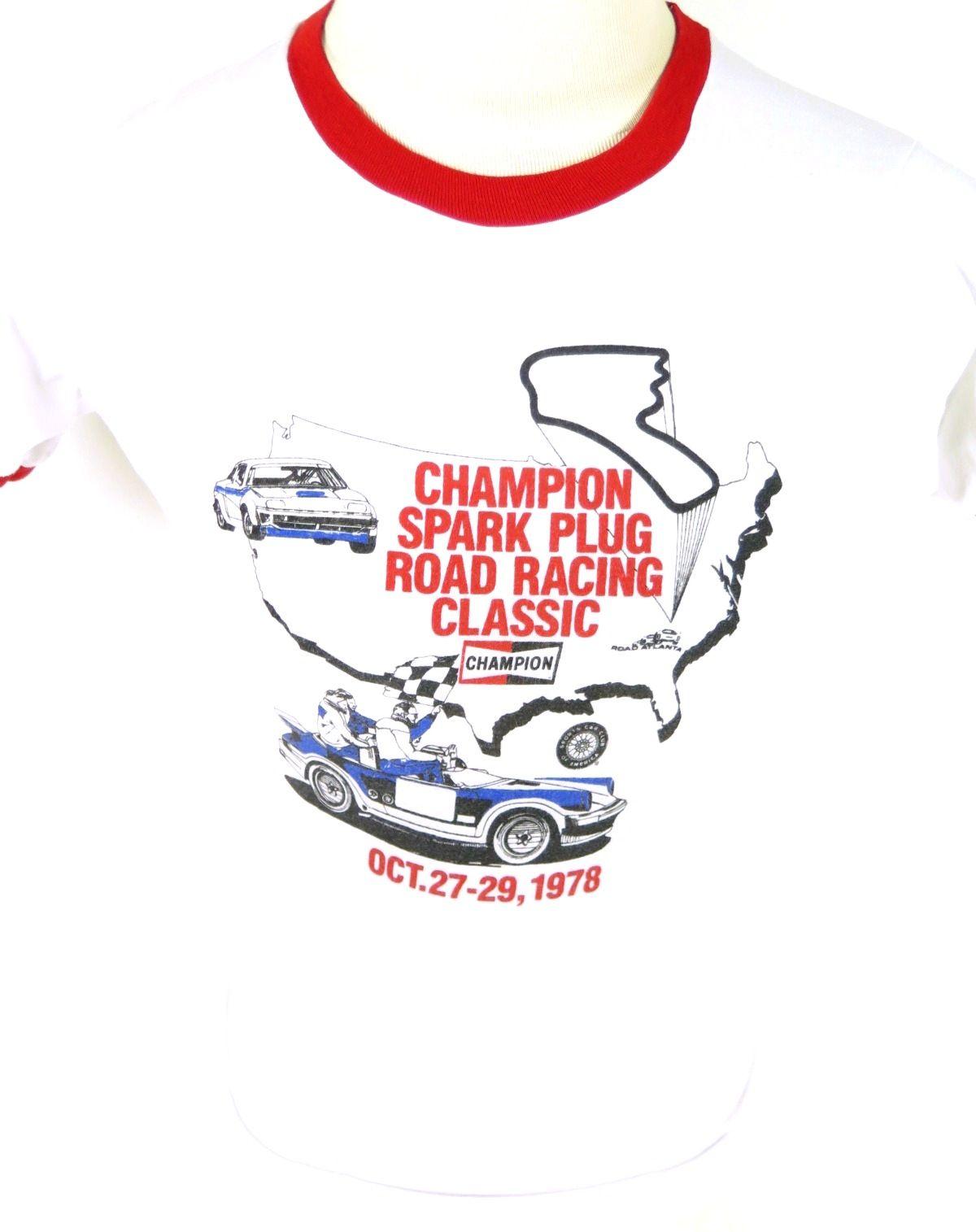 Vintage 70s 1978 Road Atlanta Champion spark plug Road