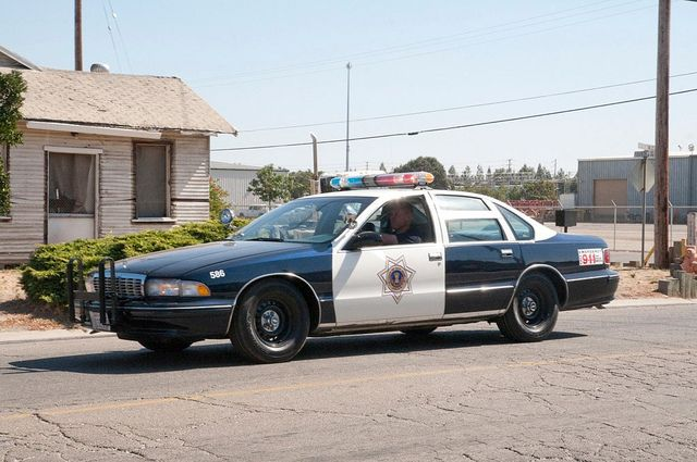 San Jose 1996 Chevy Caprice Code 3 Parade Near Side Police Cars Old Police Cars Chevrolet Caprice