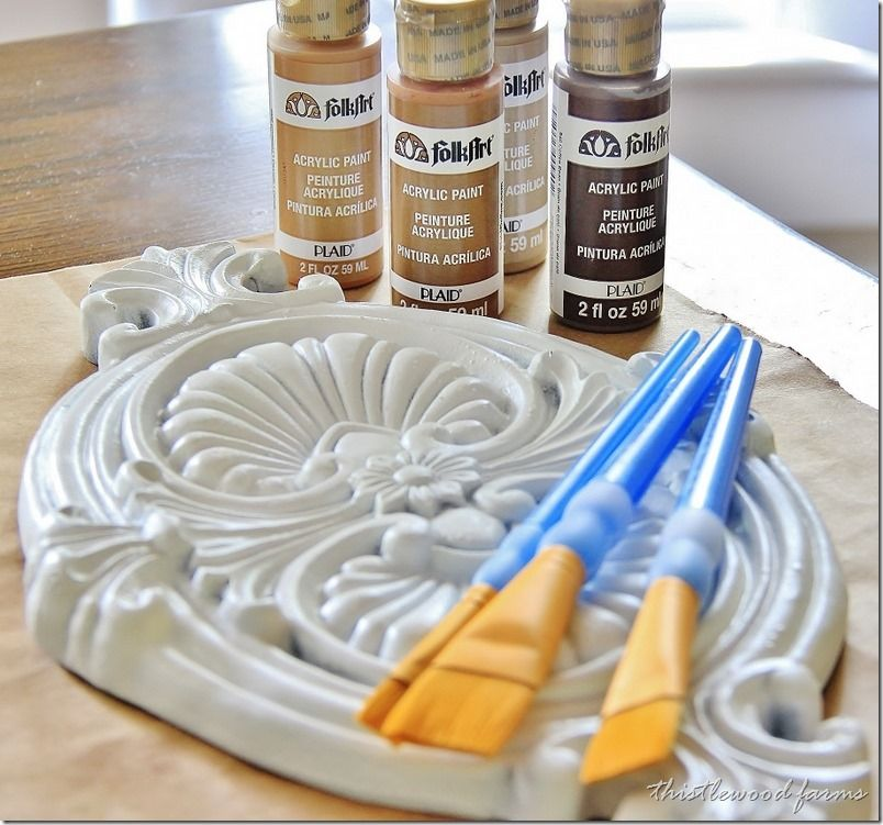 How to paint anything to look like wood painting plastic