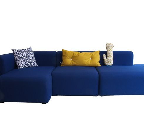 hay mags sofa mags is a comfortable sofa with a. Black Bedroom Furniture Sets. Home Design Ideas