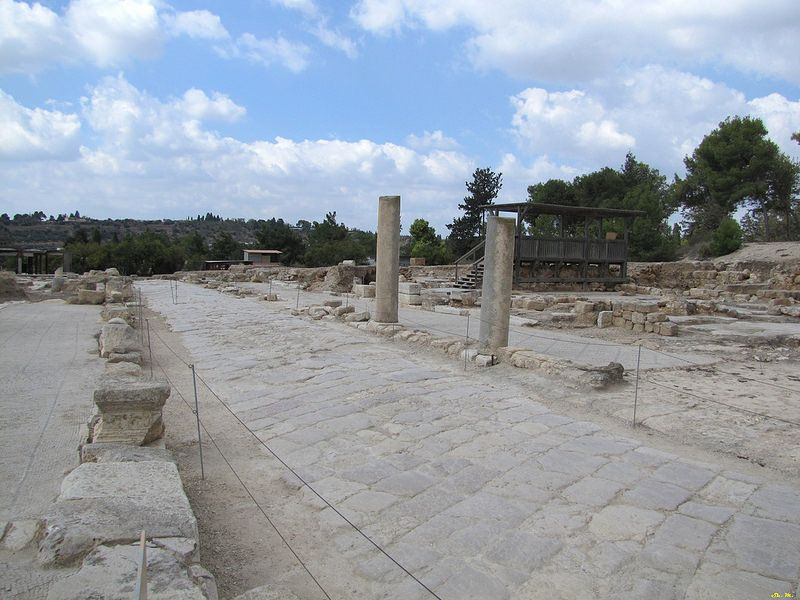 City of mosaics from the mishnaic period