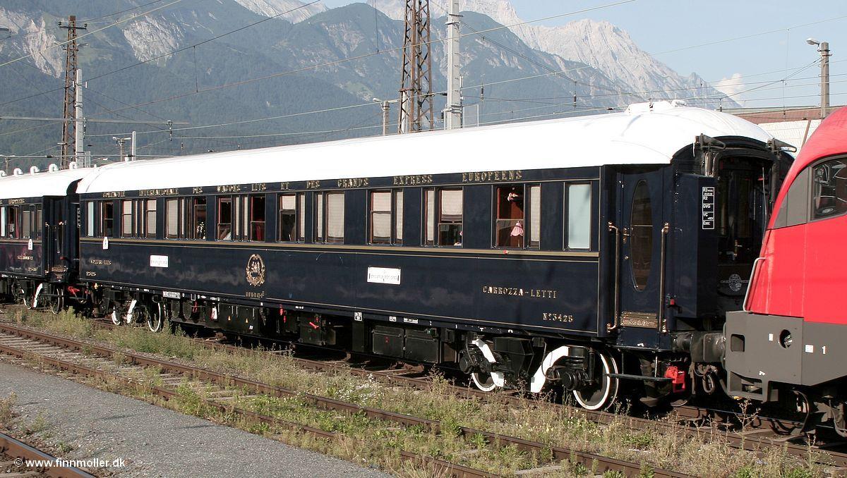 Venice Simplon Orient Express Sleeping Car 3425 Venice