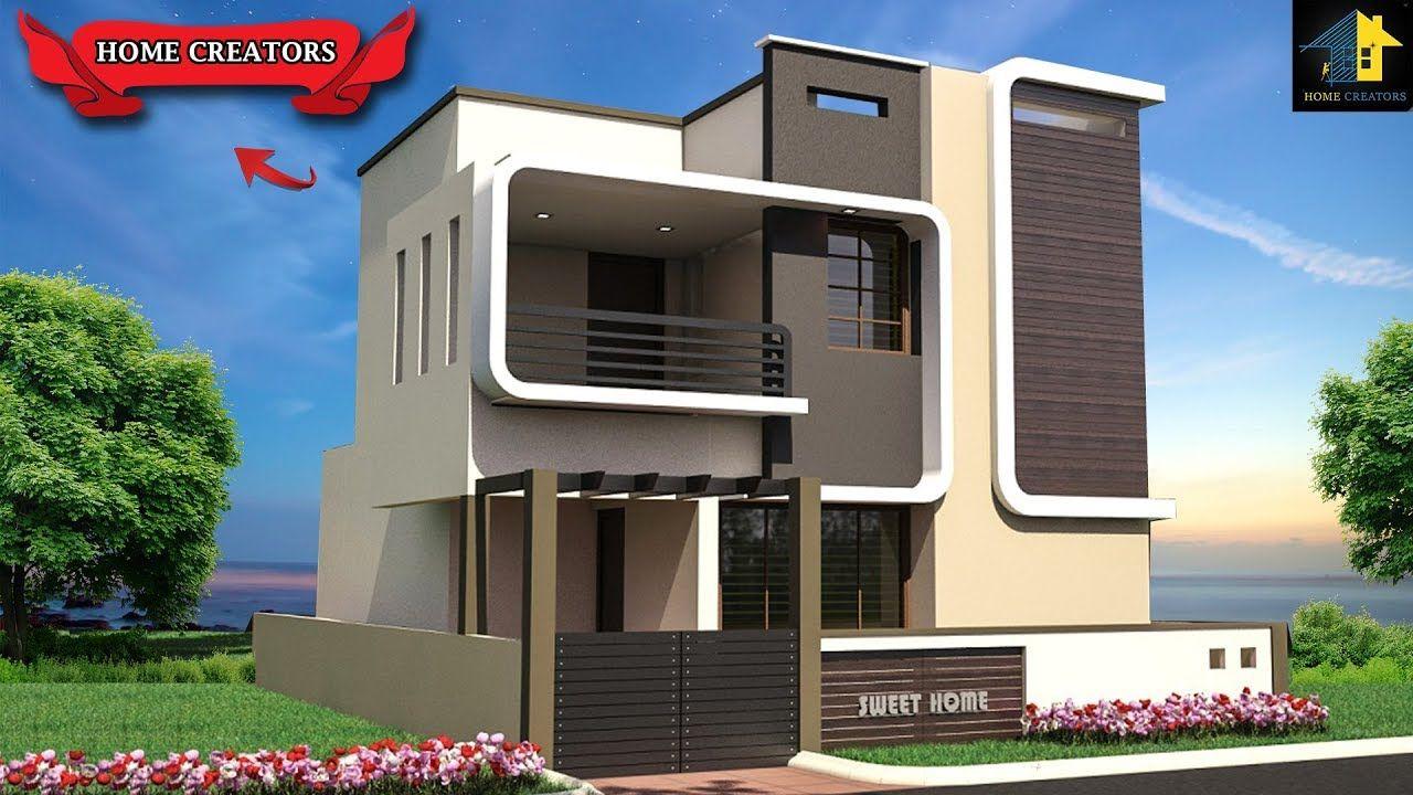Best Indian Home Elevation Design Ideas Home Front Designs Walkthrou House Elevation House Design Indian Home Design