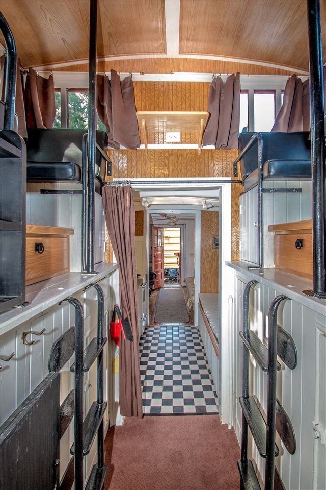 Thereu0027s A Renovated Train Car For Sale In Conway, NH