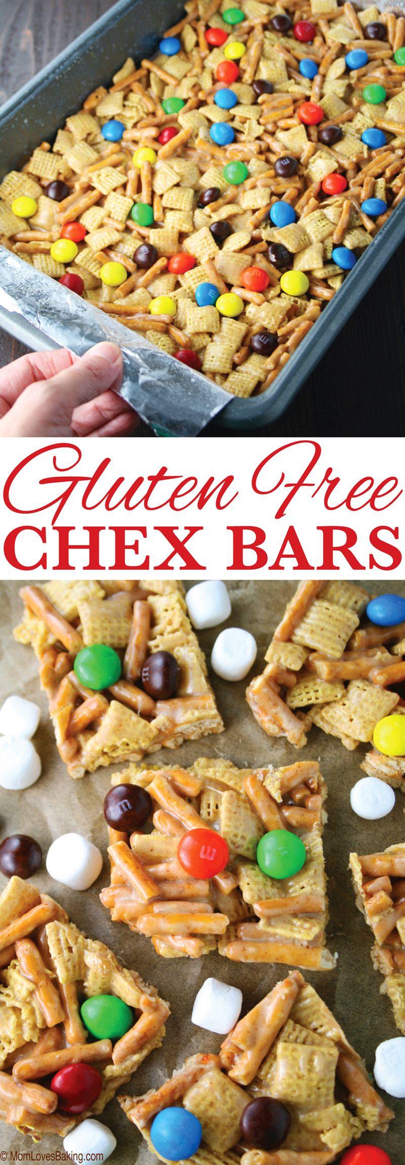 Gluten Free Chex Bars Recipe Gluten Free Treats Gluten Free