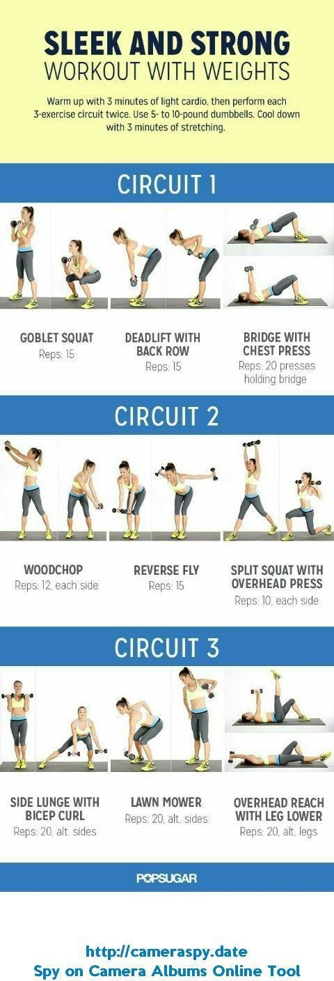 Strength Training Workout For Women That'll Help You See Gains Faster - Women Fitness Magazine #fast...