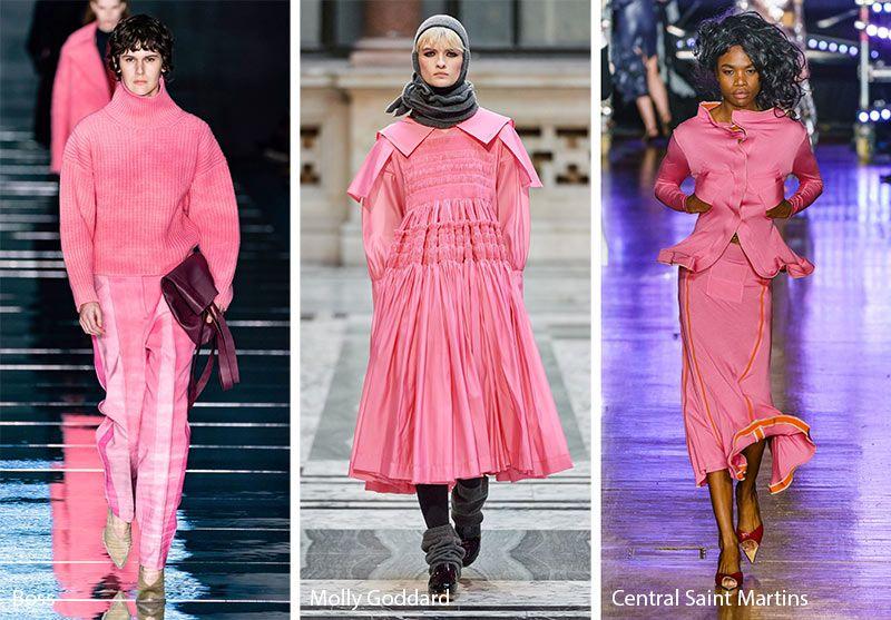 Winter Trends 2020.Fall Winter 2019 2020 Color Trends Fashion Fall Winter