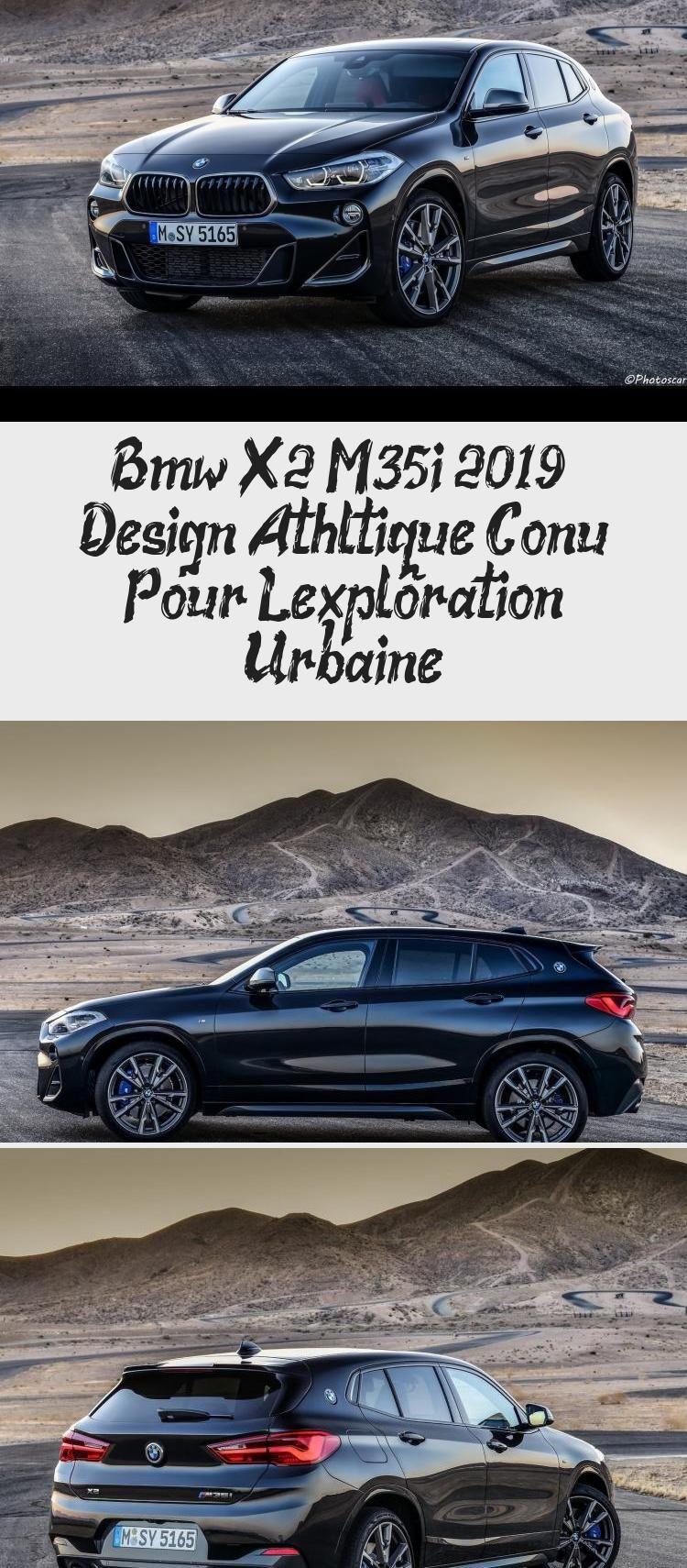 La nouvelle X2 M35i 2019 : la rebelle de la famille BMW. BMW a présenté le crossover X2 M35i, avec le quatre cylindres le plus puissant jamais produit et conçu à Munich. #carsForSale #Beautifulcars #Smallcars #carsDecorations #carsAesthetic