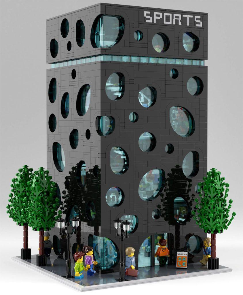 Dieses LEGO Haus ist ein architektonischer Kracher