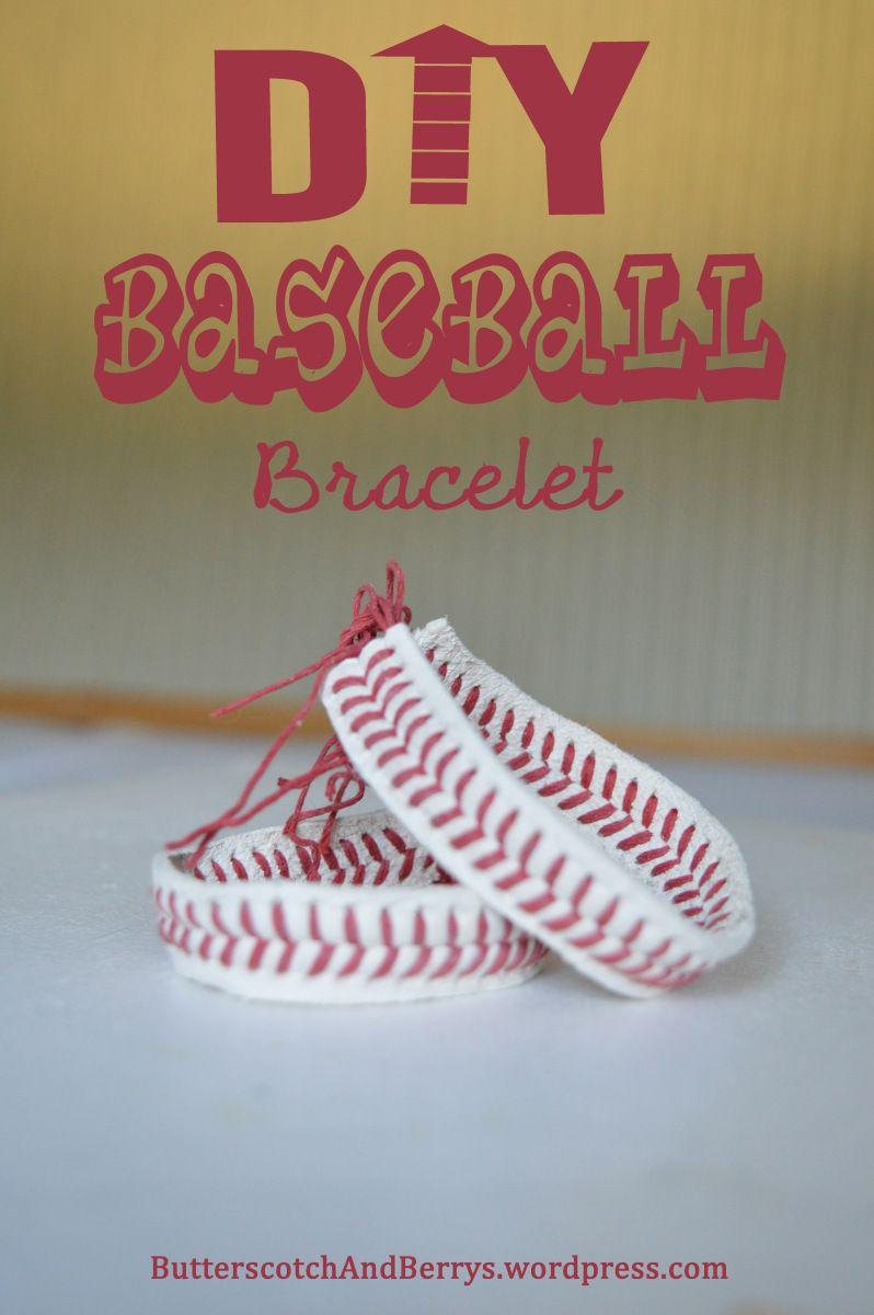 Photo of DIY Baseball Bracelet