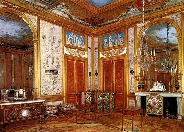 Le salon de jeu de la reine au ch teau de fontainebleau louis xvi style neoclassicism 1 - Salon louis xvi ...