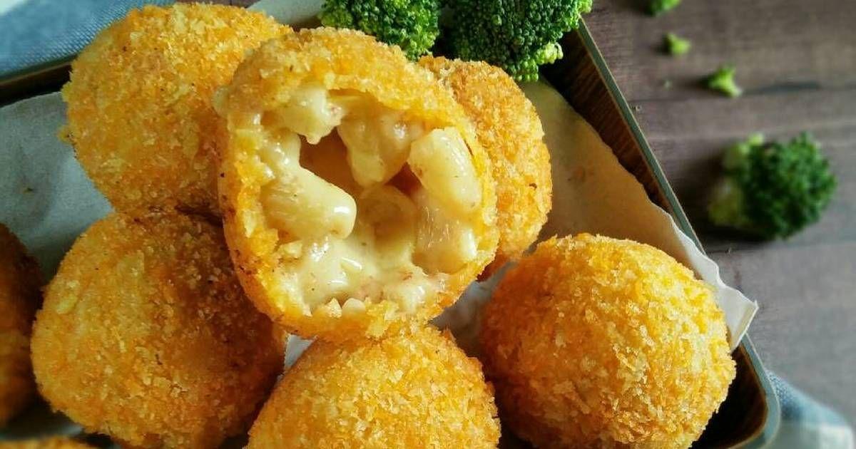 Resep Macaroni Cheese Ball Pr Pasta Oleh Dapurvy Resep Resep Memasak Resep Masakan