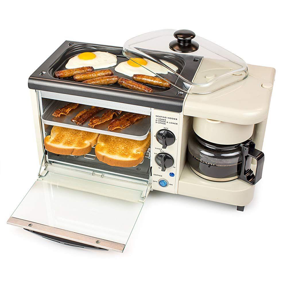 Nostalgia Bset100bc 3 In 1 Toaster Ovens 2 Slice Bisque Buy