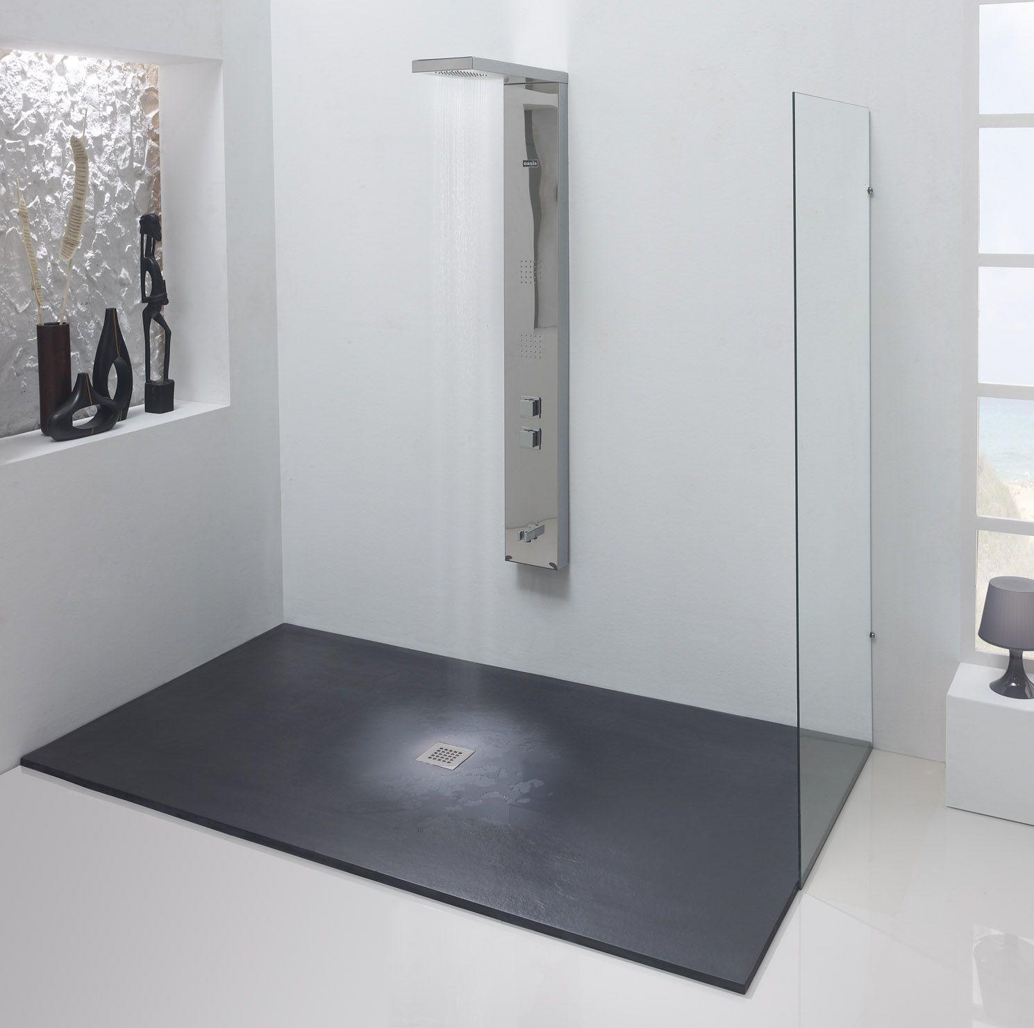 Platos de ducha de dise o creativo y diferentes formatos - Modelos de banos y duchas ...