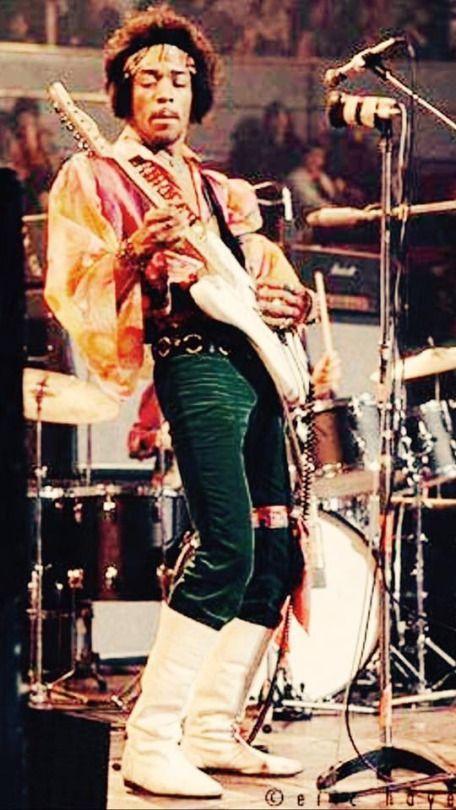 Jimi Hendrix, Royal Albert Hall: London, England 1969-02-24.