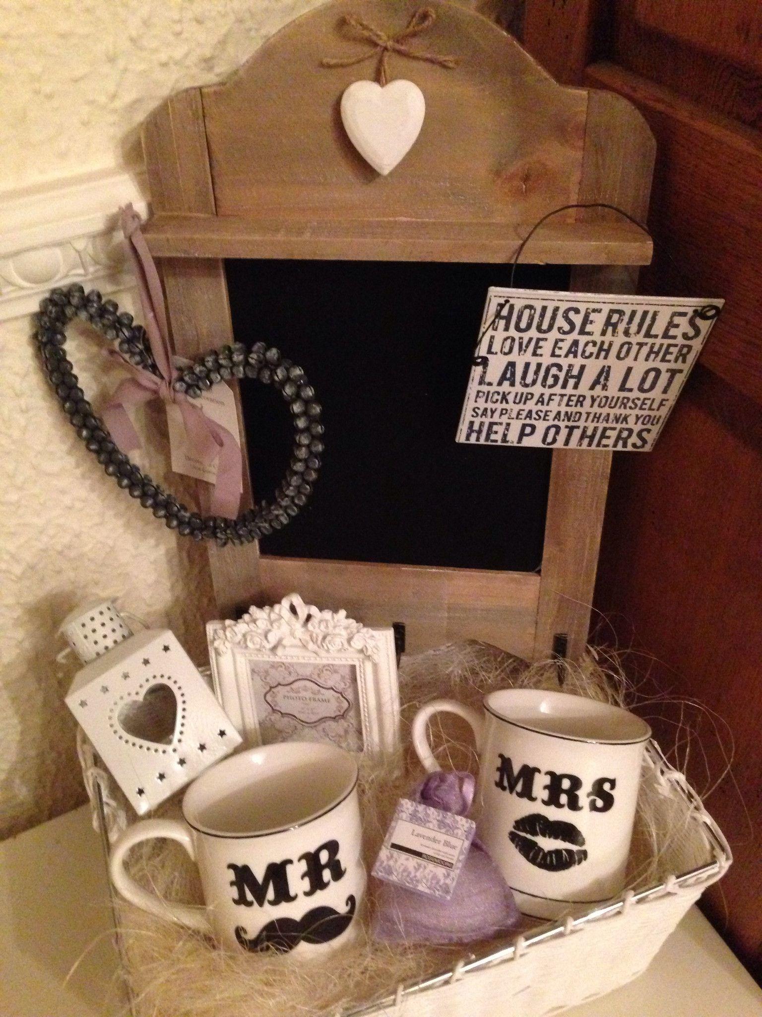 Mr and Mrs Wedding Gift Hamper