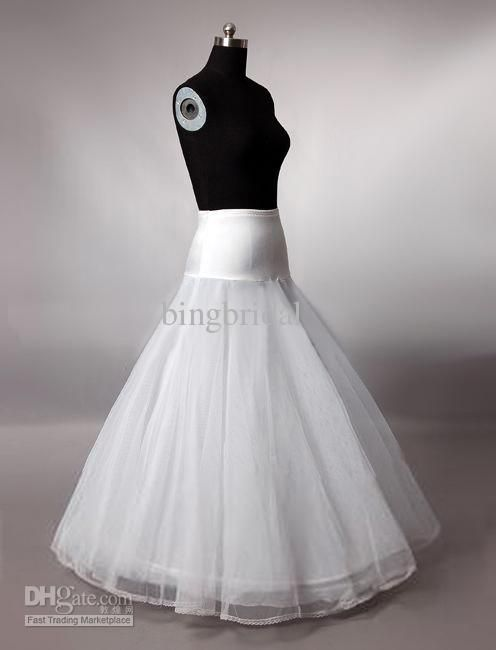 Back To Search Resultsweddings & Events Jupon Mariage Hot Sale White Tulle Tulle Dress Long Underskirt Cheap Petticoat Stock Enaguas Para El Vestido De Boda