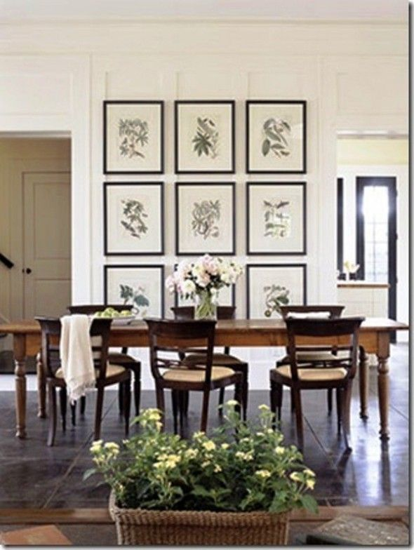 Decorating Ideas For Dining Room Walls #diningroom Awesome Decorating Dining Room Wall Design Decoration