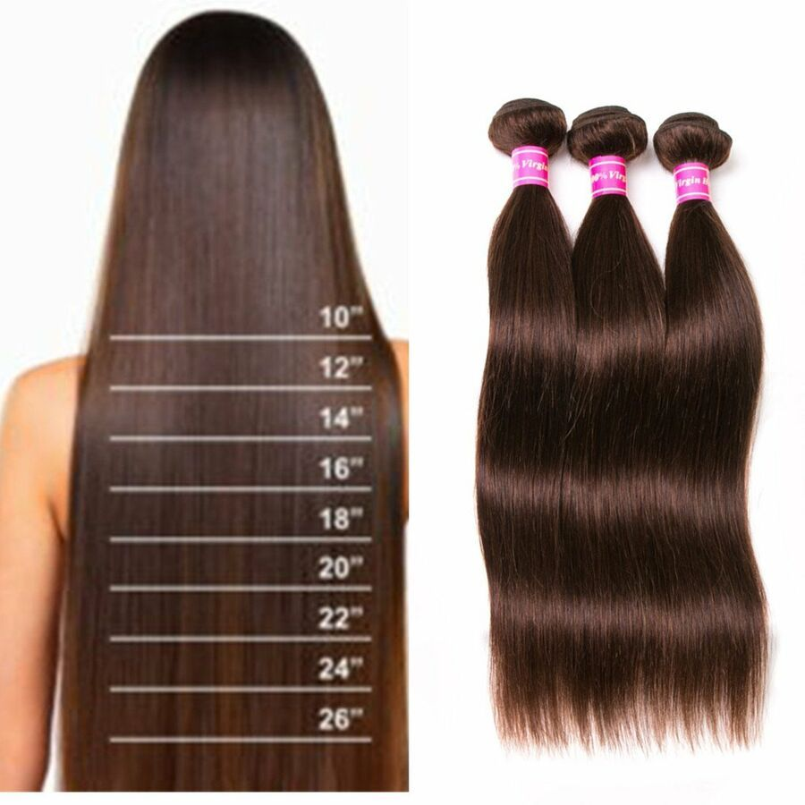 8a Brazilian Weave Straight Hair Extensions 3 Bundles Mixed Length 20 22 24 Inch 606814087673 Eb Straight Hair Extensions Straight Hairstyles Hair Accessories