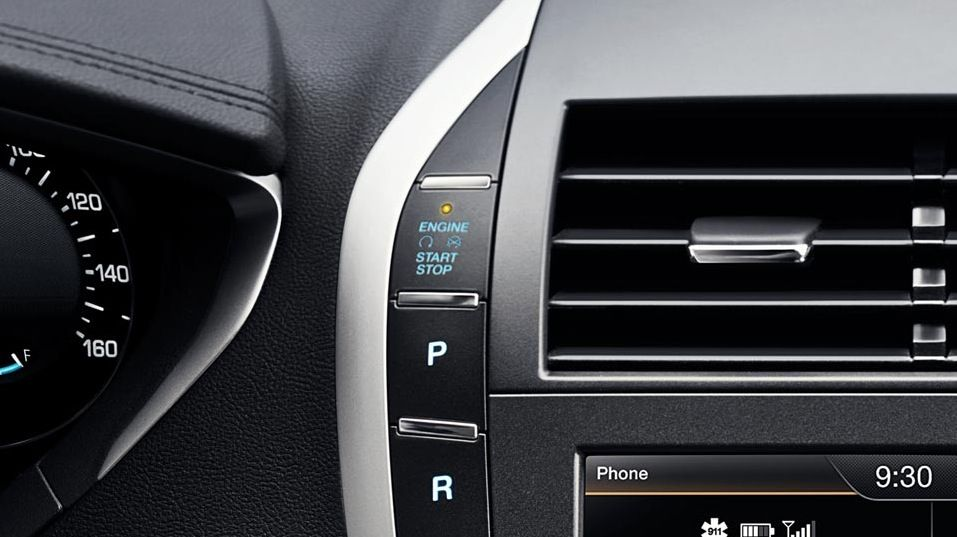 Intelligent Access with push-button start is standard in #LincolnMKZ
