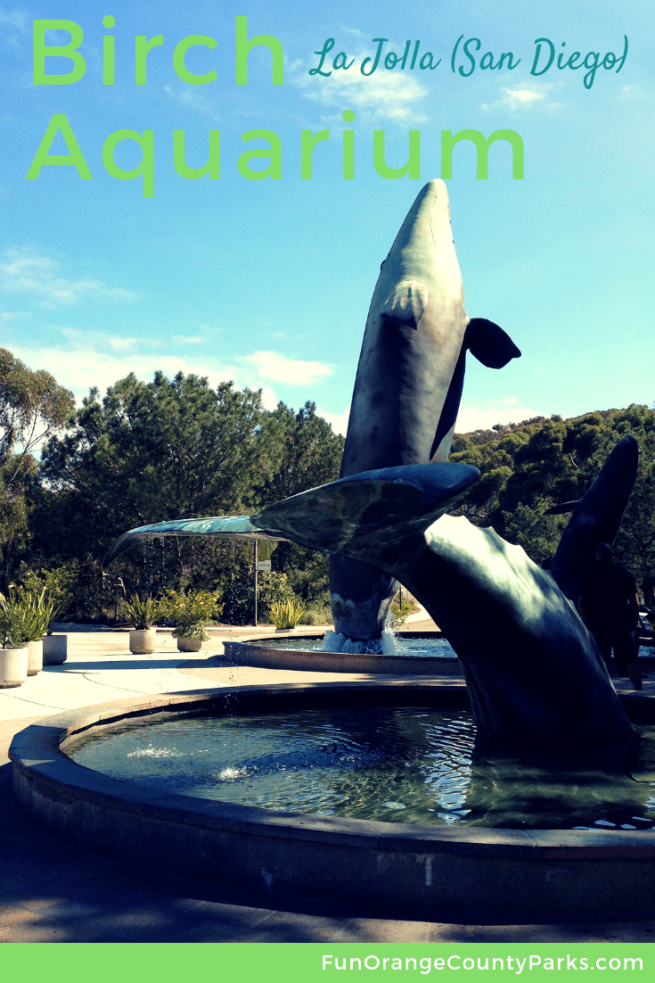 Birch Aquarium at Scripps in La Jolla (San Diego) | day