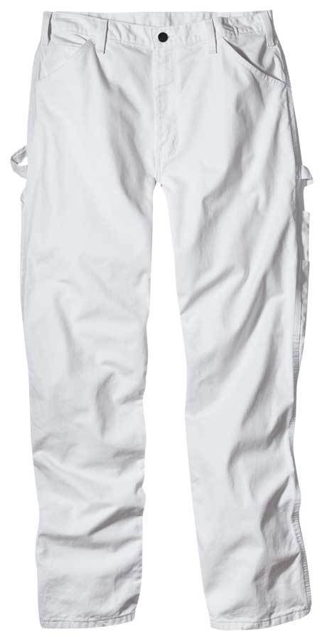 white painters pants -- I used to wear these all the time in high school.