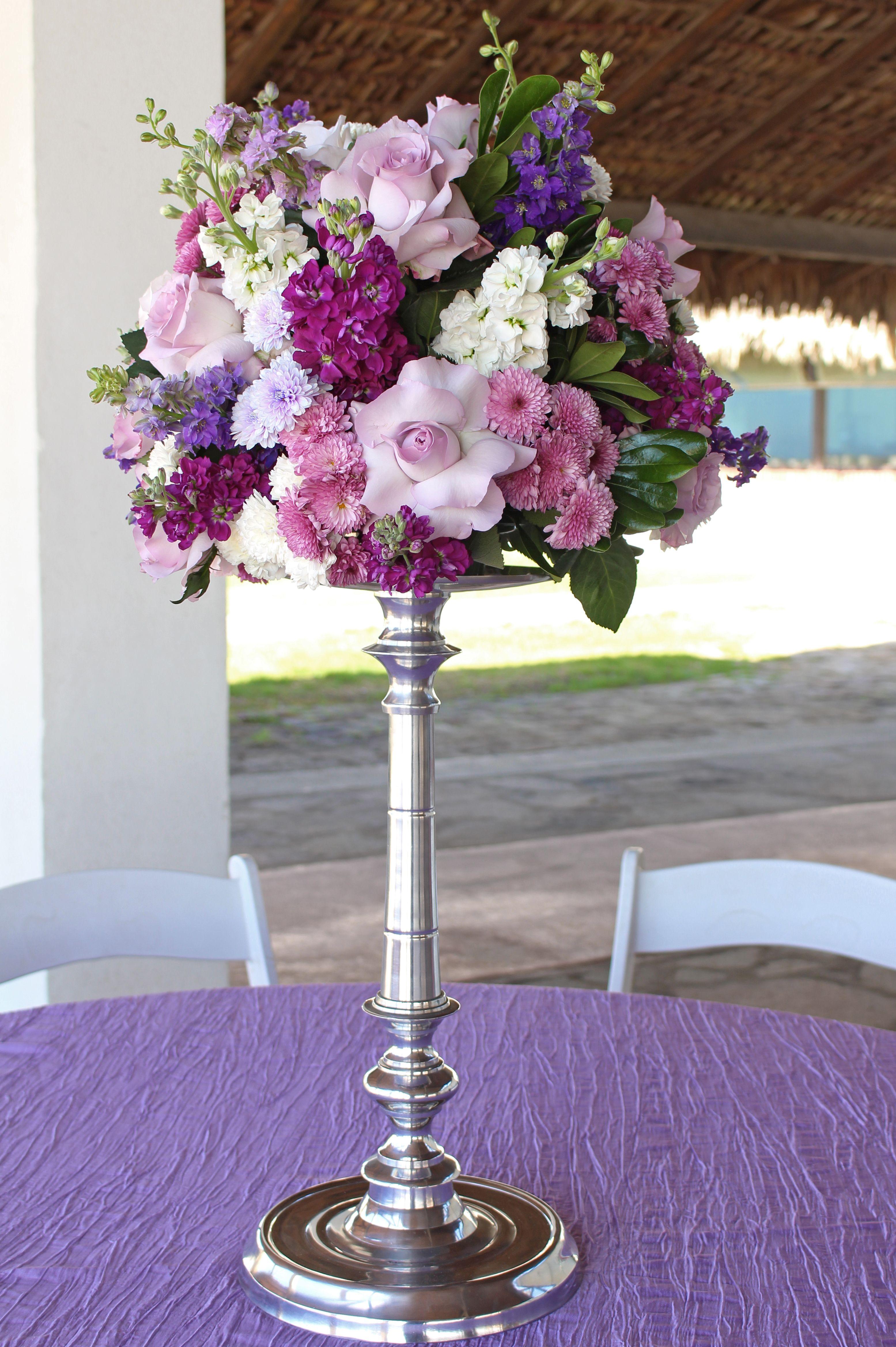 Centro De Mesas, Playa, Bodas En La Paya Morado Wedding