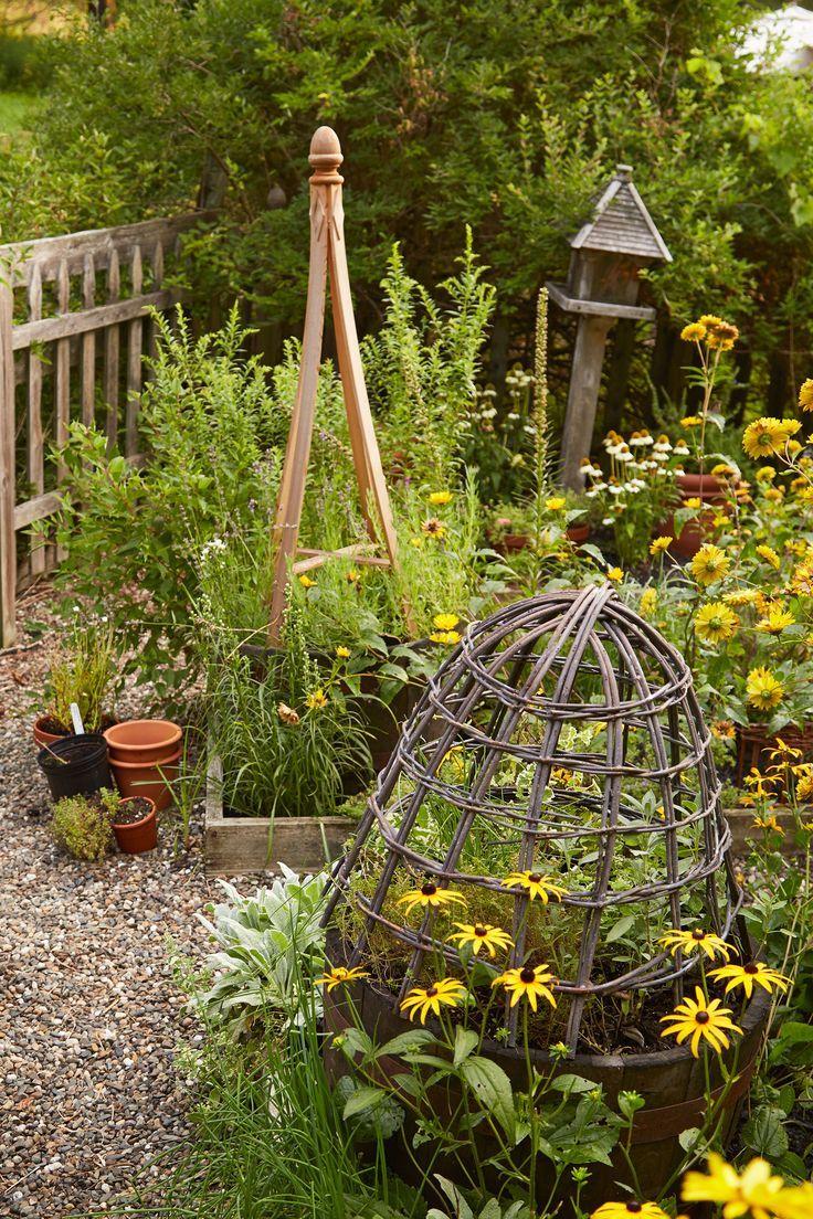 Country living vegetable garden inspiration pinterest for Country vegetable garden ideas