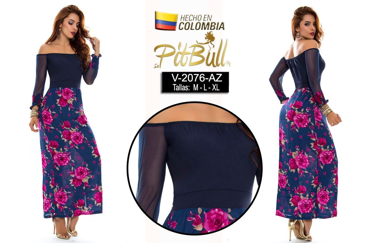 Comprar VESTIDOS LARGOS - Ropadesdecolombia.com - Ropa latina y moda de  colombia. 032f0ef8b2d4