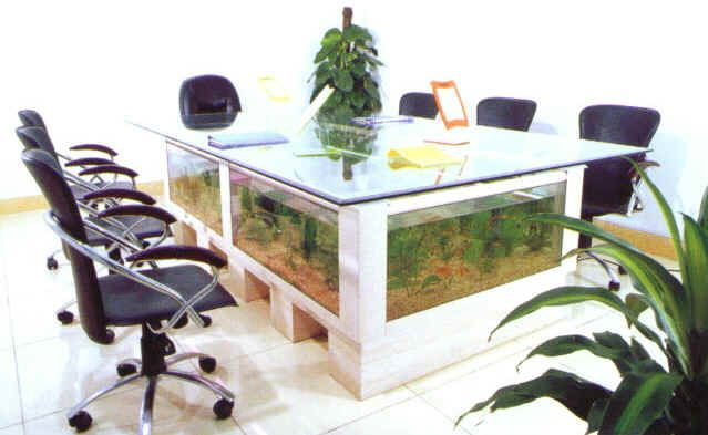 Dining Table Fish Tank Home Furniture Cool Tanks