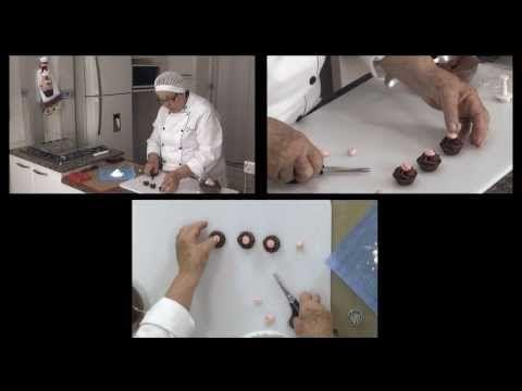 Cursos de Confeitaria Artística Doces Finos e Bolos Artísticos Professora Vanir Petter - YouTube
