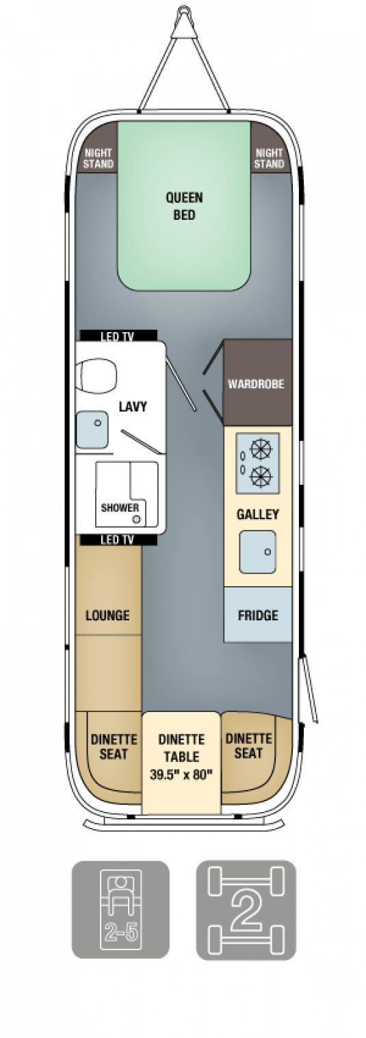 Photo of Airstream-Grundrisse – Land Yacht 28 #rereationalroom #recreational #room #dre ….