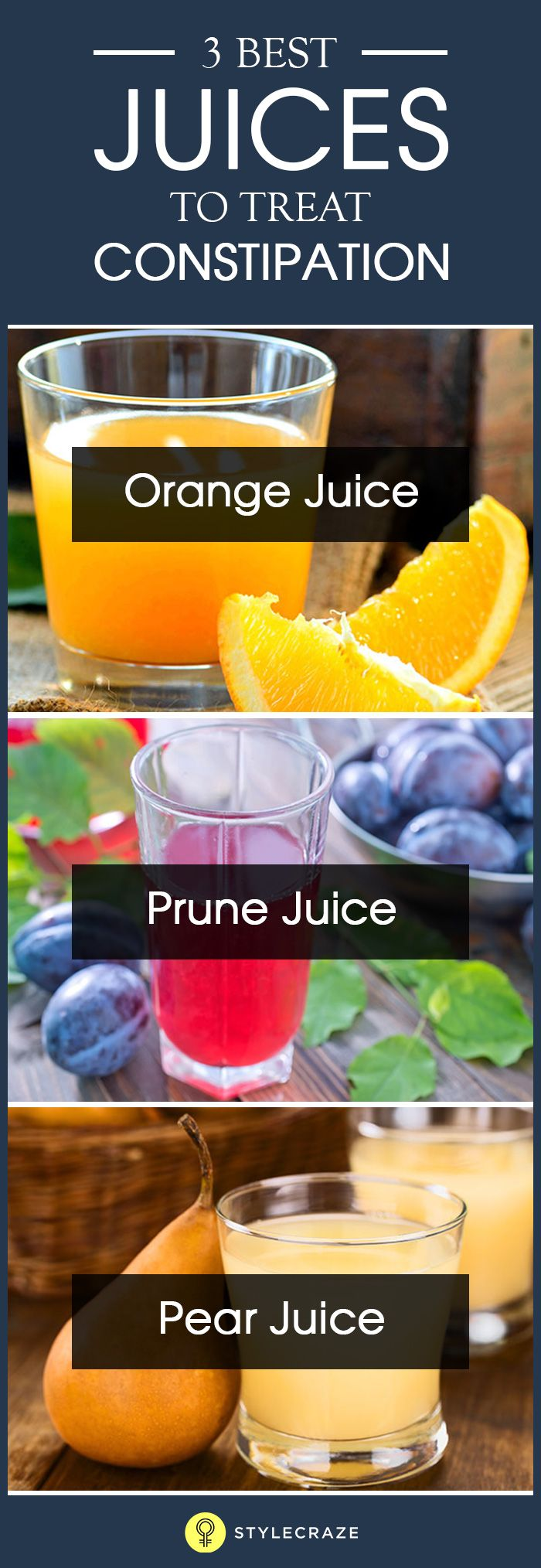5 Best Juices To Treat Constipation recommend