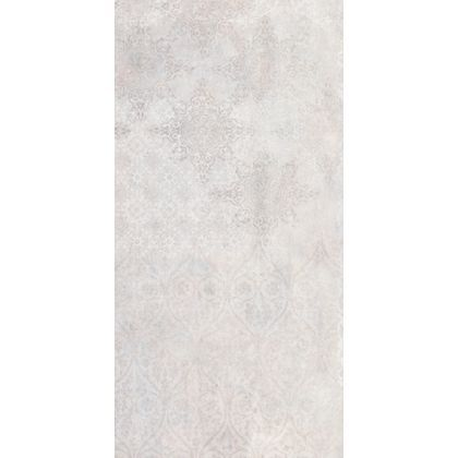 Urban Damask Wall Tile Grey 60 X 30cm Pack Of 5