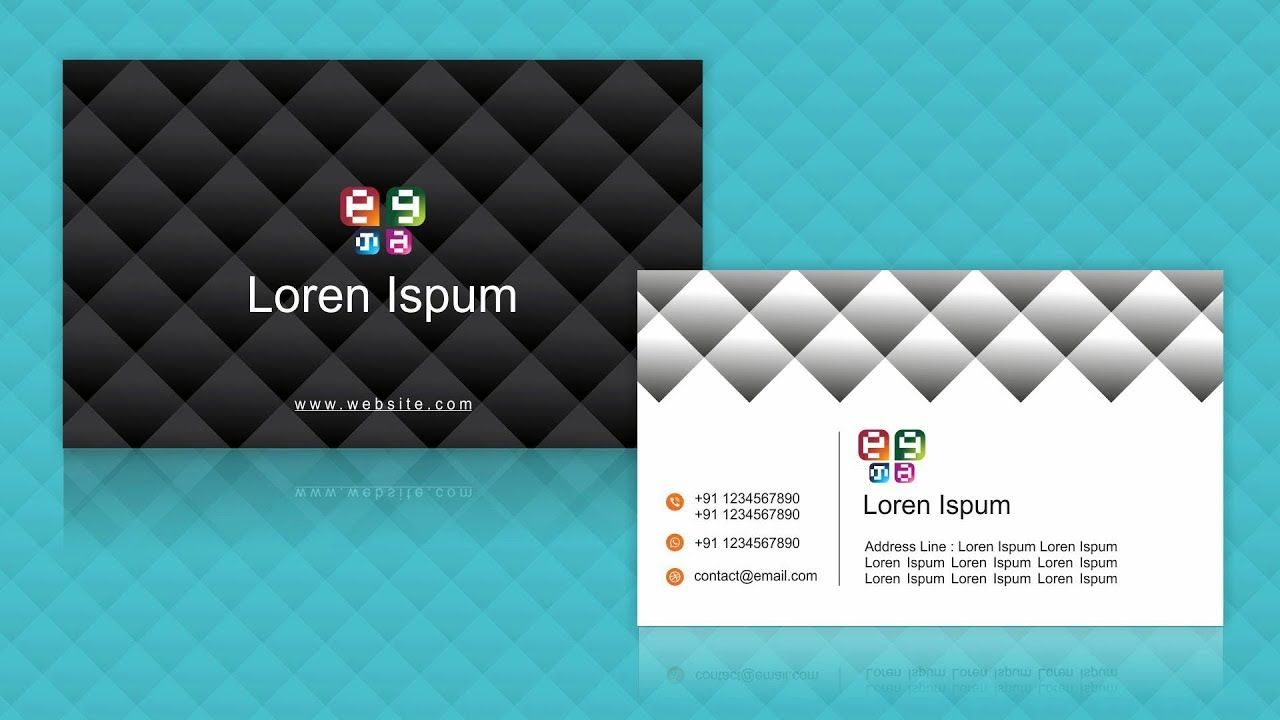 Visiting card design 3 coreldraw tutorials for beginners visiting card design 3 coreldraw tutorials for beginners business c reheart Gallery