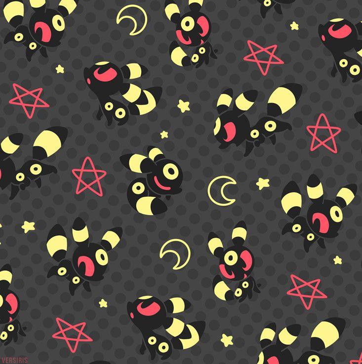 Umbreon Pattern by Tanya Kozak Umbreon wallpaper