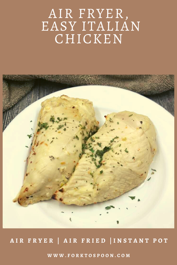 Photo of Air Fryer, Easy Italian Chicken – Fork To Spoon